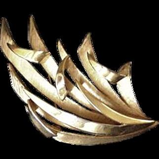 Trifari Mid Century Wild Pin