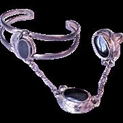 1970's Bracelet Ring Combo