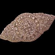 Art Deco Rhinestone Pin