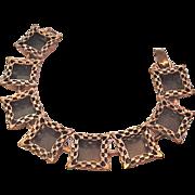 Copper Renior Shadow Box Bracelet