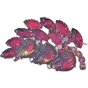 Red Glass Pin