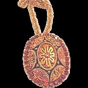 Juliana Large Matrix Pin Pendant Necklace