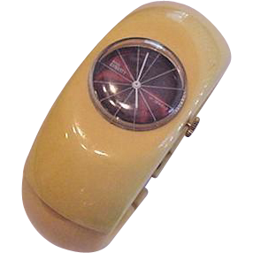 Yellow Bakelite and Royal Dynasty Watch