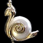 Garden Snail Pin