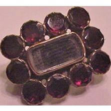 Georgian Garnet and Hair Pin