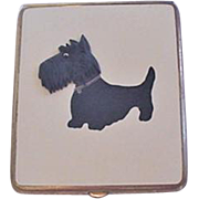 Enamel Scotty Dog Cigarette Case