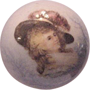 Hat Pin Gainsborough Woman Transferware