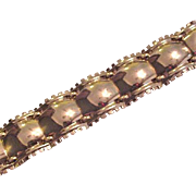 Classy and High Quality Vintage Monet Bracelet