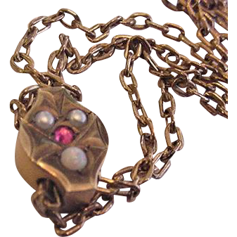 Victorian Slide Necklace