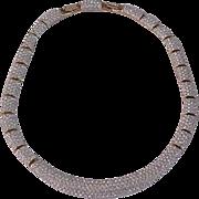 Swarovski Crystal Rhinestone Necklace