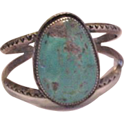 Large Turquoise Piece Bracelet