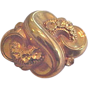 Victorian Gold Filled Pin