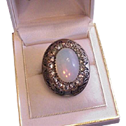 Victorian Revival Dragon's Breath Ring