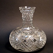 Cut Glass Decanter or Carafe