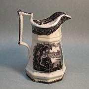 "Mulberry Ironstone ""Washington Vase"" Milk Pitcher"