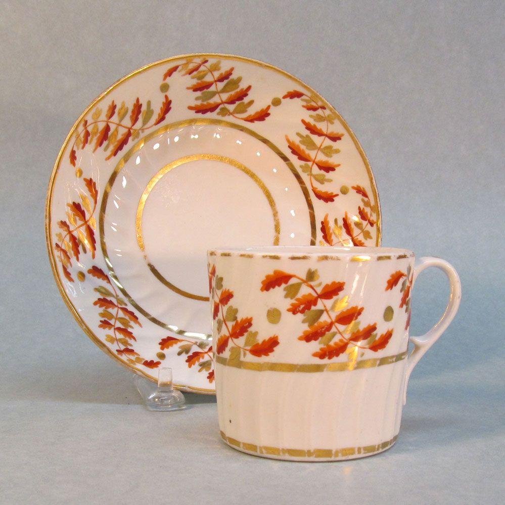 Coffee Can and Saucer circa 1800