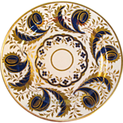 English Porcelain Tea Plate ca 1815