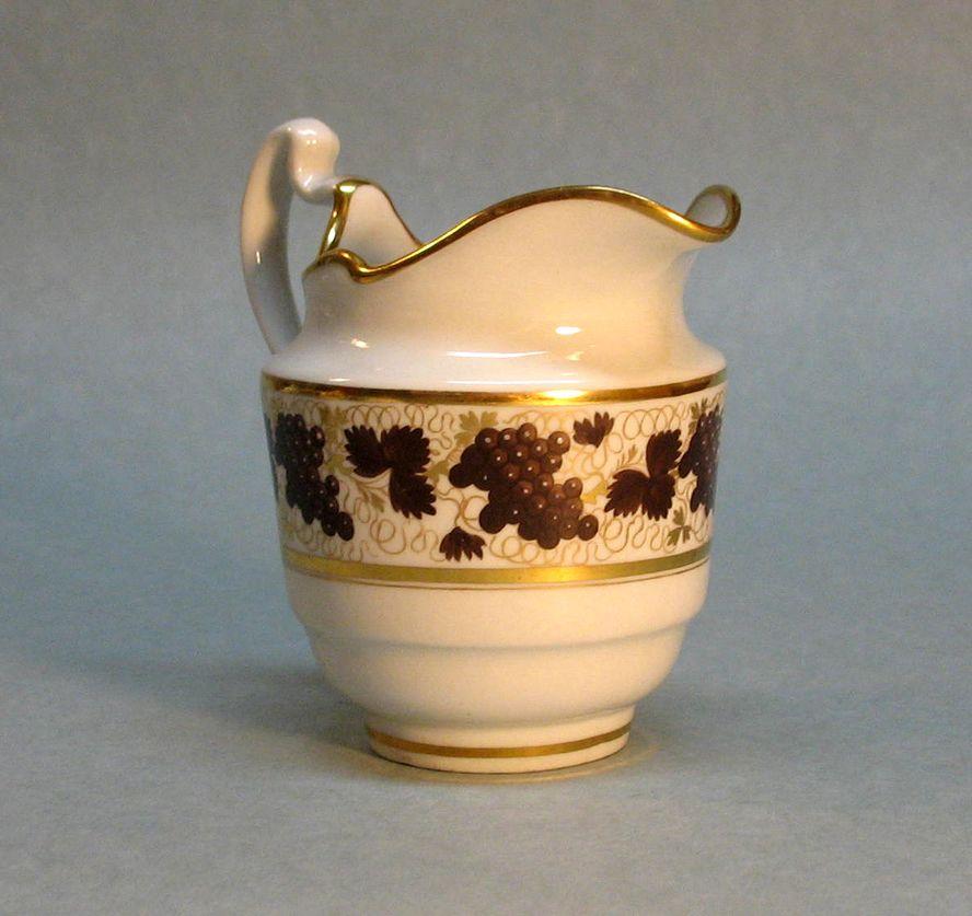 Barr Period Worcester Porcelain Cream Pitcher circa. 1800