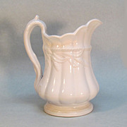 "White Ironstone ""Ceres"" Pitcher"