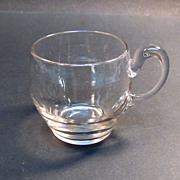 Early Blown Glass Punch Cup