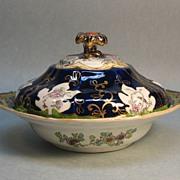 Nineteenth Century Mason's Ironstone Covered Dish