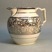 Silver Luster Pearlware Pitcher ca. 1825