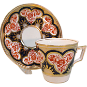 English Bone China Cup and Saucer ca 1885