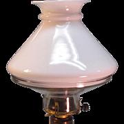 Two-piece Illuminator Oil Lamp Shade