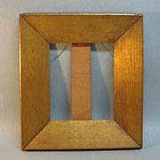 19th Century Gilt Oak Frame