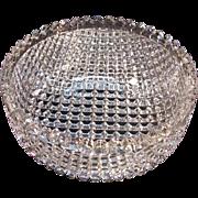 """Strawberry Diamond"" Cut Glass Bowl ca. 1900"