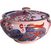 Spode Japan Pattern Covered Sugar Bowl ca. 1815-1833