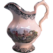 Toy Transfer Pitcher ca. 1850