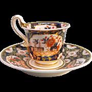 "Spode ""Japan"" cup and saucer ca. 1820"