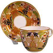 Minton Cup and Saucer ca 1810