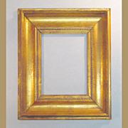Antique Gilt Hardwood Picture Frame