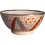 Silver Luster Bowl ca. 1810