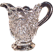 Flint Glass Creamer circa 1860