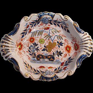 """English Stone China """"Japan"""" Pattern Tray ca. 1825"""