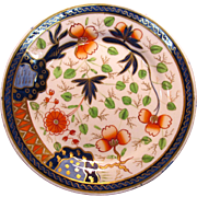 """Japan"" Pattern English Porcelain Plate ca. 1825"