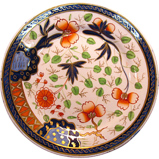 """Japan"" Pattern English Porcelain Plate ca. 1825"