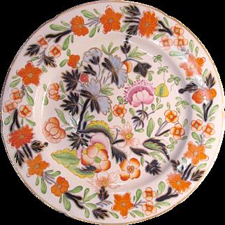 """Japan"" Pattern English Porcelain 9.5"" Plate ca. 1825"