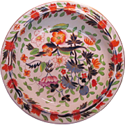 """Japan"" Pattern English Large Porcelain Bowl ca. 1825"