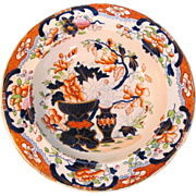 """Tonquin """"Stone China"""" Soup Plate ca. 1825"""