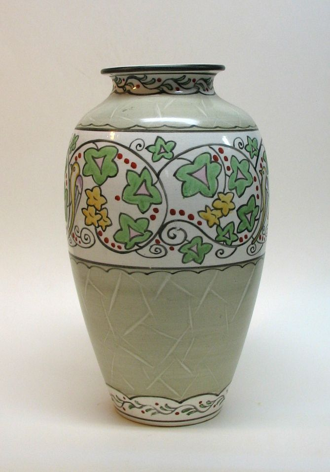 Large Royal Nippon Vase
