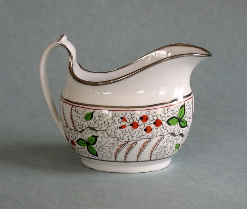 British Porcelain Creamer ca. 1810