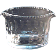 Anglo-Irish Cut Glass Wine Rinser