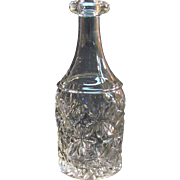 Sandwich Star Bar Decanter ca. 1860