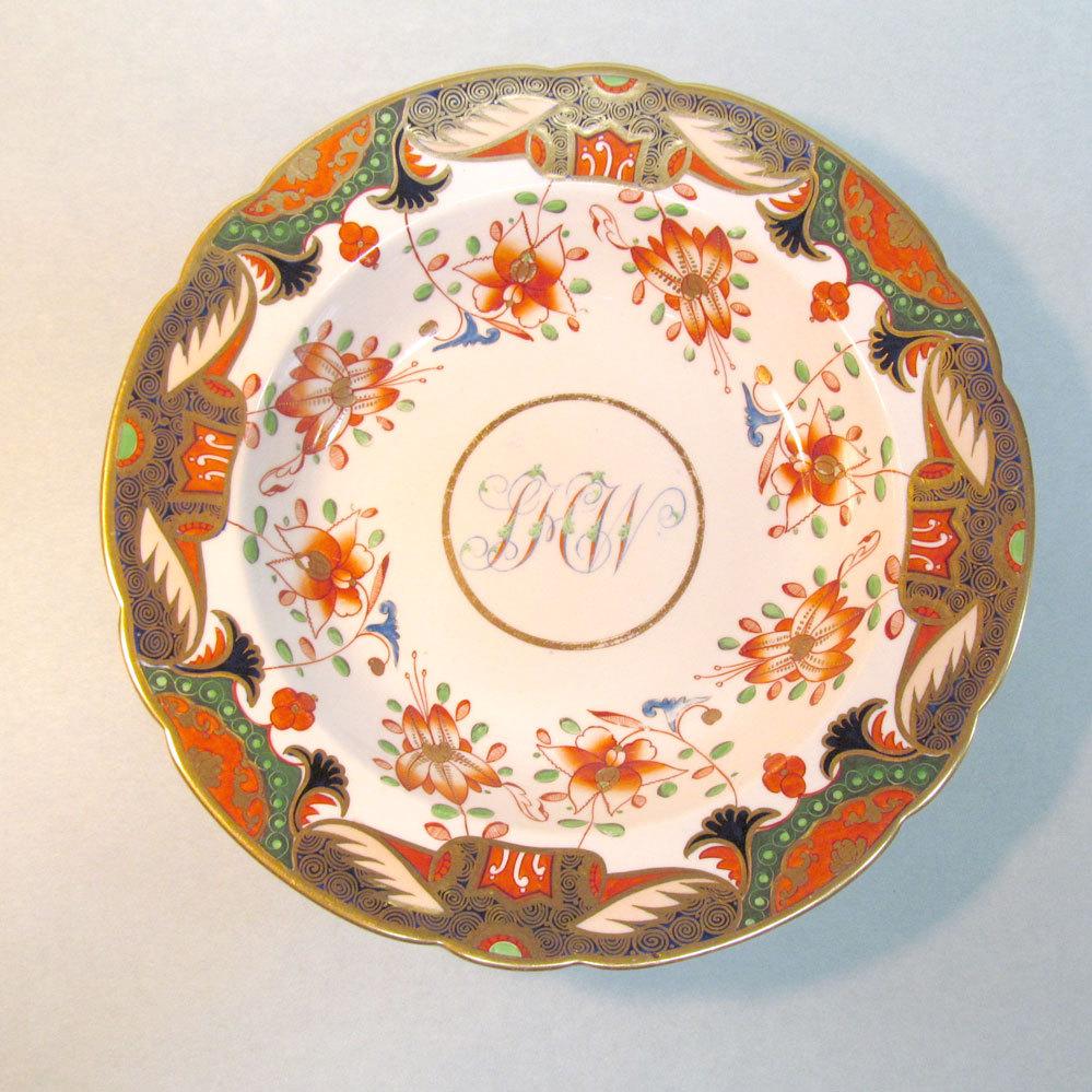 Spode Japan Pattern Soup Plate ca. 1810