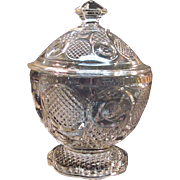 """Horn of Plenty"" Covered Sugar Bowl"