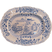 Small Masons Ironstone Platter ca. 1825